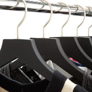 Tragarm solid platin mit Schlitz für Kleiderstangenhalter