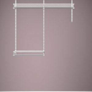 Elfa Starter Kit 3 –  124 x 35 x 210cm weiss