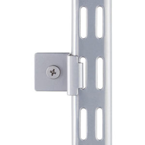 Wandbefestigungs-Clip platin (Set à 2 Stk)