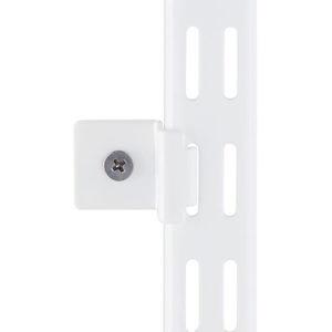 Wandbefestigungs-Clip weiss (Set à 2 Stk)