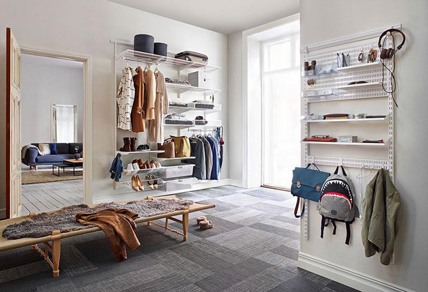 Herausforderung Garderobe